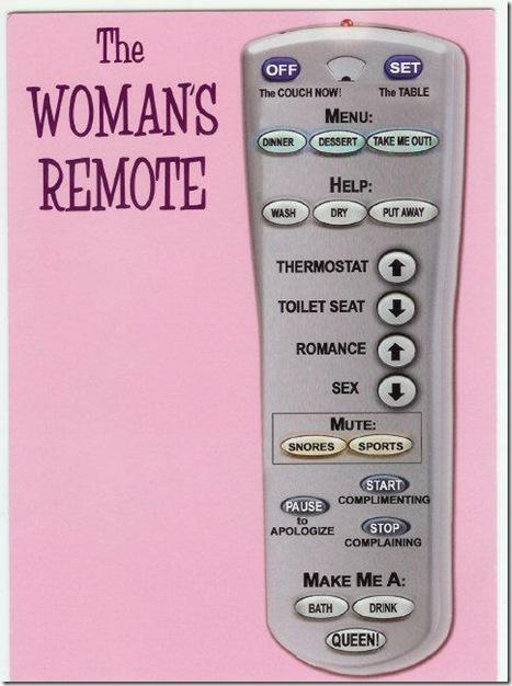 Womans-remote