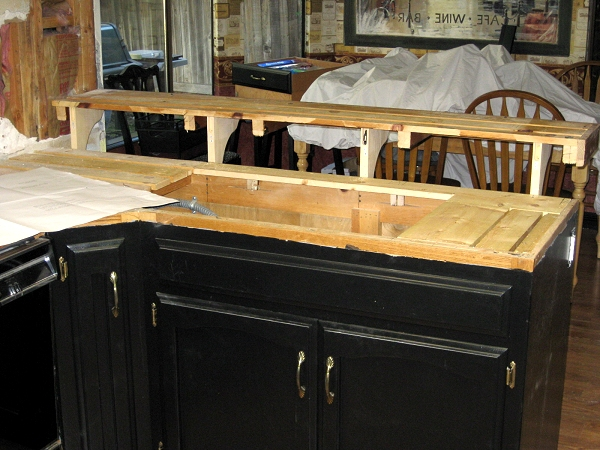 Auction Girl Vintage: Replacing Kitchen Countertops ~ Ceramic Tile ...