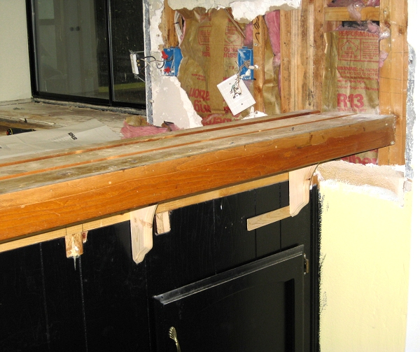 Changing Countertops In Kitchen: Auction Girl Vintage: Replacing Kitchen Countertops